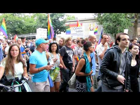 Berlin Gay Rights March for Russian Gays