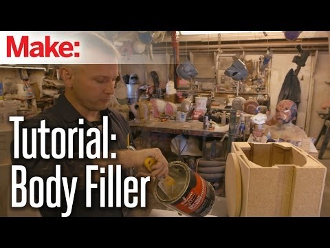 Building up to Maker Faire: Body Filler Tutorial with ShawnThorsson