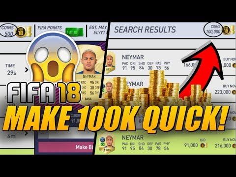 HOW TO TRADE FROM 0 TO 100K QUICKLY IN FIFA 18! | TRADING TIPS | FIFA 18