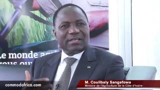 ITW : Mamadou Sangafowa COULIBALY MINISTRE DE L`AGRICULTURE ET DU DEVELOPPEMENT RURAL