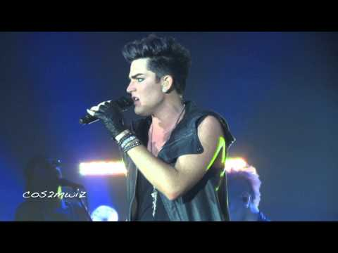 ADAM LAMBERT - Chokehold - Fantasy Springs, July 21, 2012