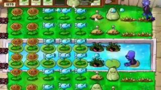 Guia Plantas Vs Zombies AVENTURA Piscina Nivel 3-7
