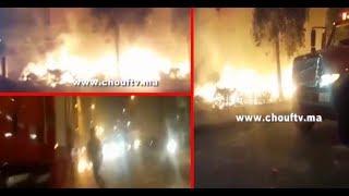 أول فيديو للفوضى اللي نوضوها المهاجرين من افريقيا فكازا..شعلو العافية بليصانص و ضربو الناس بالحجر | بــووز