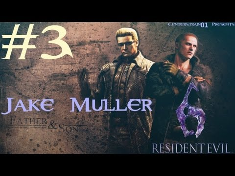 Resident Evil 6 Walkthrough - Jake Muller Part 3 - Chapter 3 - Stealthy Action Hero
