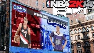 PS4 NBA 2K14 MyCAREER: Attribute,Endorsements,and Dunk
