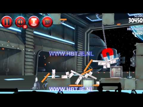 Angry Birds Star Wars 2 Naboo Invasion p1-2 3 stars