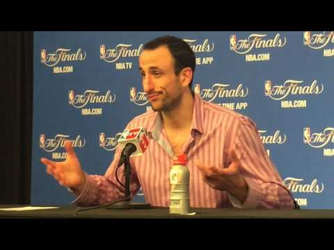 Manu Ginobili comments after San Antonio Spurs defeat Miami Heat in Game 1 of NBA Finals