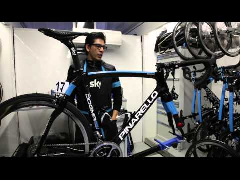 Bradley Wiggins' 2014 Team Sky Pinarello