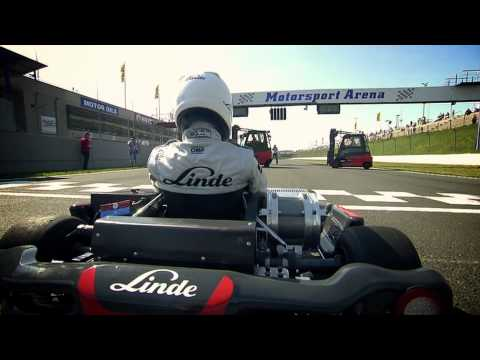 Linde E1 E-Kart / Electric Kart World Record Drive to Guinness Book