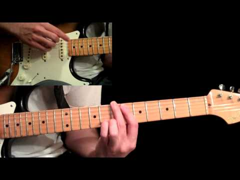 Eric Johnson - Manhattan Guitar Lesson Pt.3 - Second A &amp; B Sections