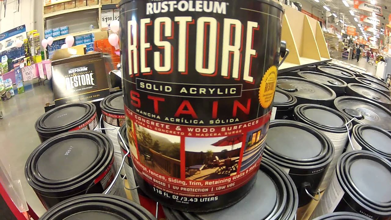 jobs a complete renovation with Rustoleum Deck & Concrete Restore