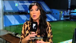 El análisis de Viviana Vila. Rafaela 2 - Lanús 1. Fecha 2. Torneo Primera División 2014. FPT