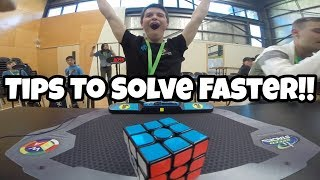Top 3 Things Pro Speedcubers Do That Will Help You Solve Faster!! (Pro Tips)