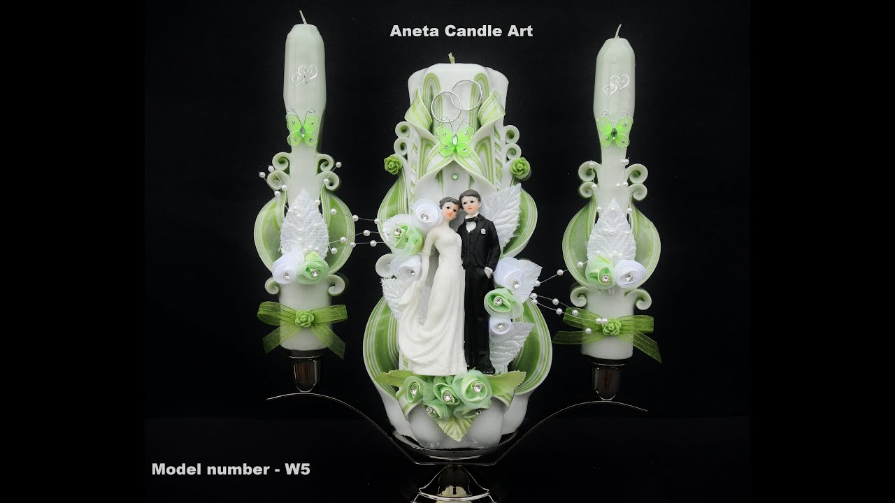 My carved candle youtube
