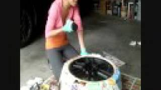 How to Paint Your Rims [HD] videos