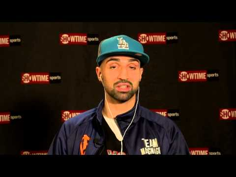 Paulie Malignaggi - Pre-Fight Chat Replay - SHOWTIME Boxing