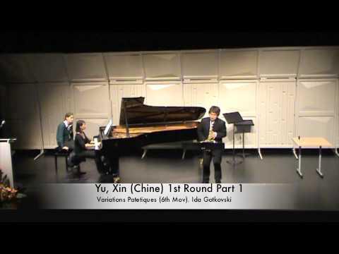 Yu, Xin (Chine) 1st Round Part 1