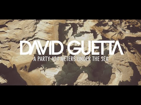 image video David Guetta - A Party 424 Meters Under the Sea