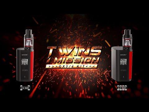Smok GX2/4 Box Mod - The Twins Mission - Slideshow