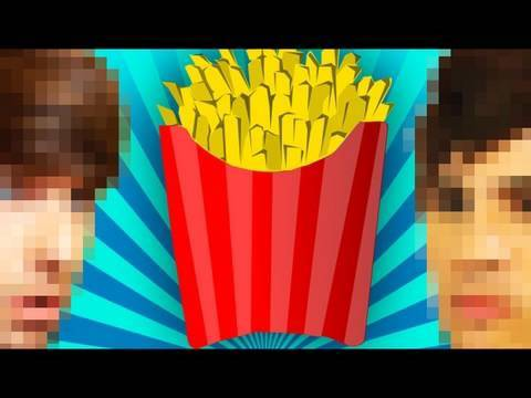 Fry Eating Contest! (Lunchtime w/ Smosh)