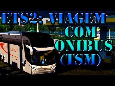 Euro Truck 2: Viagem com ônibus - mapa TSM (parte 45)