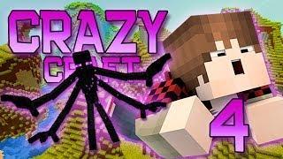 Minecraft: Crazy Craft Modded Survival Playthrough w/Mitch! Ep. 4 - MUTANT ENDERMAN!