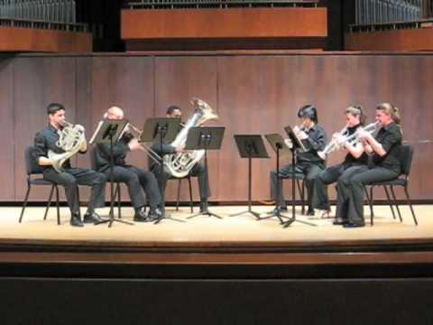 Juilliard Brass - Bohme Sextet: Movements 1 & 2