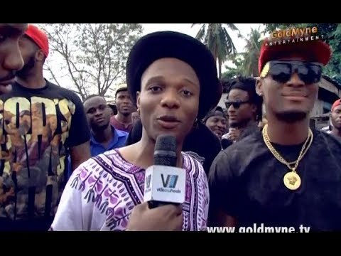 Wizkid Video Shoot - WIZKID: 'Show Me The Money' Video Shoot
