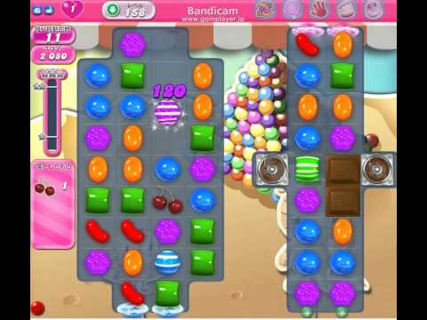 candy crush saga level 158 clear youtube