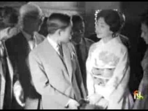 Visit of Crown Prince and Princess of Japan to India in 1960 - visit to Taj Mahal