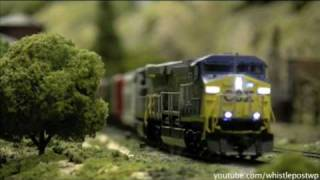 Modern HO Trains With Sound Decoders Part 2