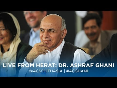 A Conversation With Afghanistan Presidential Candidate Dr. Ashraf Ghani (via Skype)