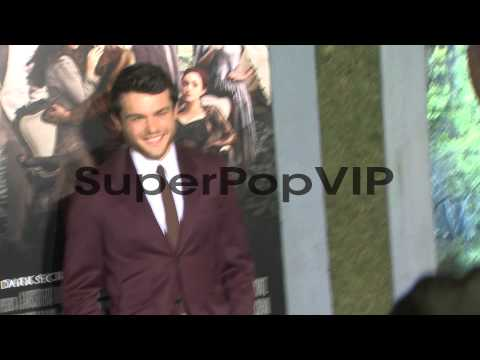 Alden Ehrenreich at Beautiful Creatures Los Angeles Premi...