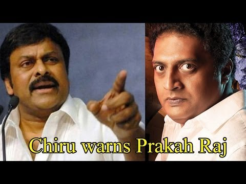 Chiru Warns Prakash Raj  : TV5 News