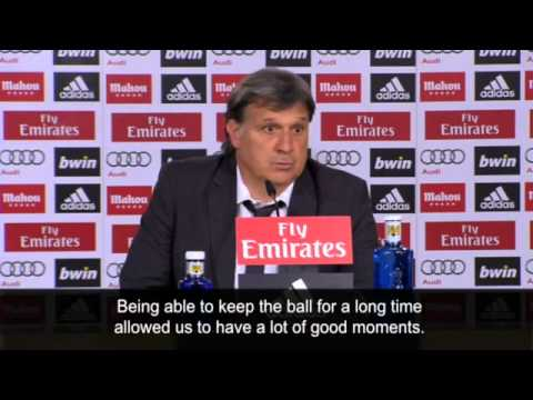 Barcelona's Gerardo Martino hails team spirit after win at Real Madrid