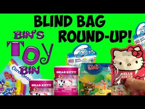 Mystery Blind Bag Round Up Smurfs Hello Kitty Lps