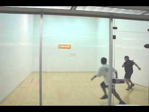 How to Play Racquetball - Oscar Game Play Analysis 2