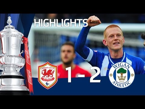 Cardiff City vs Wigan Athletic 1-2, amazing Watson winner - FA Cup 5th Round goals & highlights