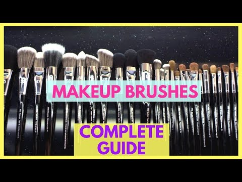 names of makeup brushes and their uses  www