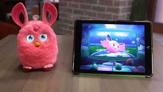 Furby Connect knows what time it is, and can update itself