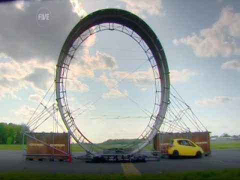 你看過汽車真的可以繞空中一圈嗎?