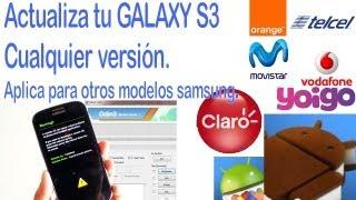 Tutorial Universal Flashear, Actualizar Galaxy S3 I9300