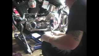 Harley Softtail Custom Primary Chain Replacement, Part 1