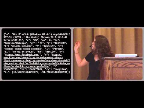 Image from PyCon Canada 2013 Keynote - Hilary Mason