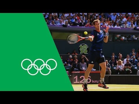 Andy Murray's Journey To London 2012 Olympic Gold - | Olympic Rewind