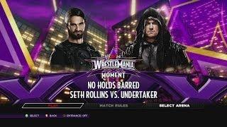 WWE 2K14 Defeat The Streak Seth Rollins Vs. The