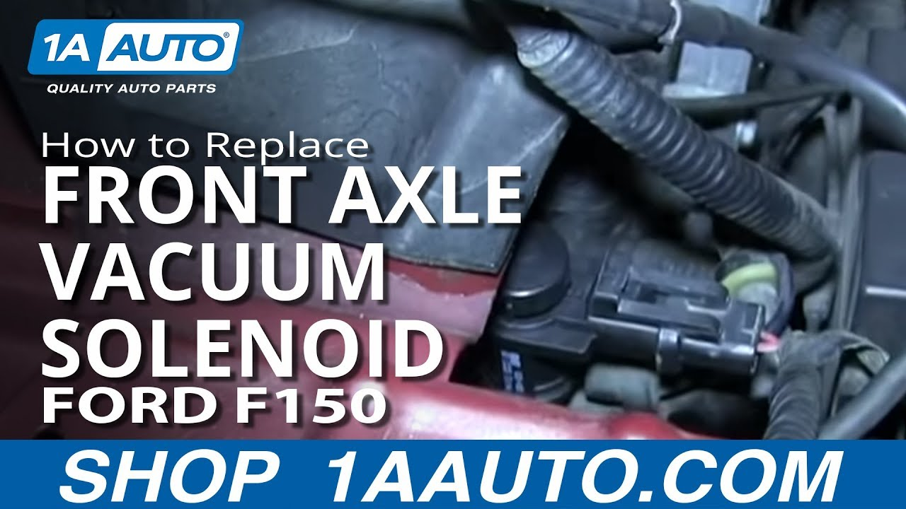 How To Change Iwe Solenoid Ford F150 Forum Community Of