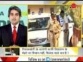 DNA Karti Chidambaram seen raising his hand while entering Patiala House