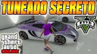 GTA V Online Truco Tuneado Secreto De Vehículos