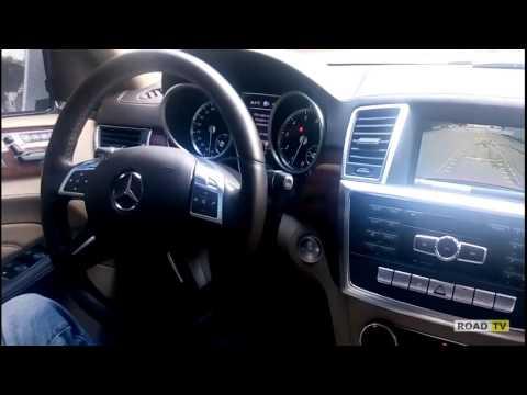 Mercedes-Benz ML550 2013  парковка бортовым компьютером